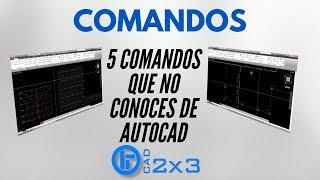 Download 5 Comandos Que no Conoces de AutoCAD Video