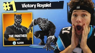 Download THE BLACK PANTHER CHALLENGE in Fortnite Battle Royale Video