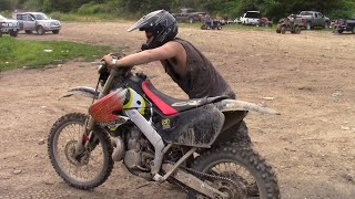 Download FIRST RIDE ON A CR500!! (Wellsville Ohio Free Zone Rippin) Video