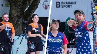 Download USA-Netherlands Exhibition Match  's-Hertogenbosch 2019 Hyundai World Archery Championships Video