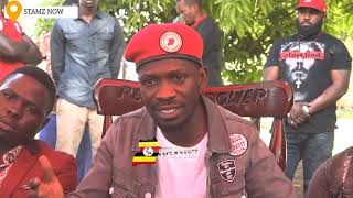 Download BOBI WINE TO MUSEVENI- YOU WILL GO LIKE BASHIR OF SUDAN, PEOPLE POWER IS THE THING Video