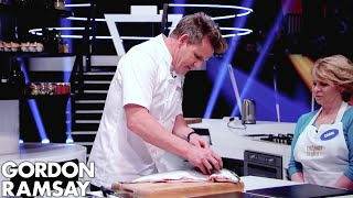 Download Gordon Ramsay Demonstrates Key Cooking Skills Video