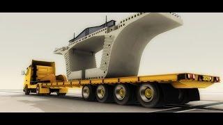 Download Segmental Bridges Construction 3D Animation Video