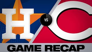 Download Senzel ties game, Winker walks it off in 9th | Astros-Reds Game Highlights 6/19/19 Video