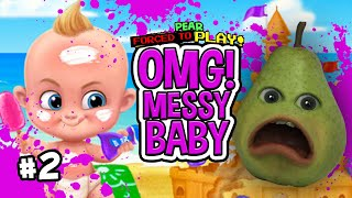 Download Pear FORCED to Play - MESSY BABY #2 (FARTING ON EVERYTHING) Video