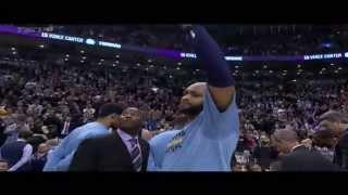 Download Vince Carter gets tearful during Toronto Raptors video tribute - Grizzlies at Raptors Video