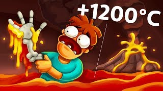 Download What If You Spend 1 Nanosecond In The Volcano? Video