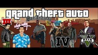 Download Trailers GTA III, VC, SA, IV, TLAD, TBOGT y V Video