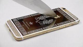 Download The Satisfaction of Scratching a 24K Gold iPhone 6 Video