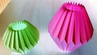 Download Home Decor Paper Crafts for Light Bulb by SrujanaTV Video
