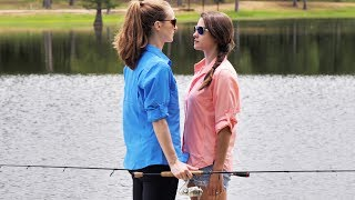 Download Wife Fishing Battle!! | Ocean Spoon Girl vs Heather Video