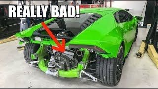 Download I TWIN TURBO'D MY LAMBORGHINI!!! **HUGE MISTAKE** Video