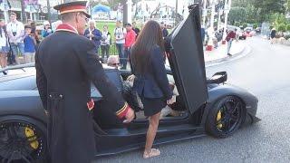 Download Lambo picking up girls in Monte Carlo Video