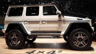 Download Mercedes-Benz G500 4x4² - 2015 Geneva Motor Show Video