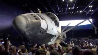 Download Space Shuttle Atlantis Exhibit Overview From Opening Day at Kennedy Space Center - NASA Video