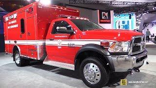 Download 2018 RAM 4500 Chassis Cab LA Fire Department Truck - Exterior Walkaround - 2017 LA Auto Show Video