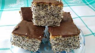 Download Bakina kuhinja - Kolač sa makom i jogurtom Video