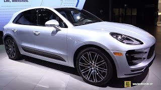 Download 2017 Porsche Macan Turbo Performance Package - Exterior and Interior Walkaround - 2016 LA Auto Show Video