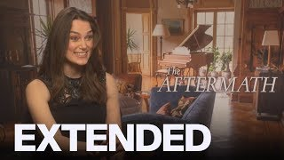 Download Kiera Knightley Talks 'Steamy' Scenes From 'The Aftermath' | EXTENDED Video