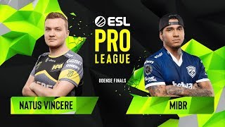 Download CS:GO - Natus Vincere vs. MIBR [Train] Map 1 - Group A - ESL Pro League Season 10 Finals Video