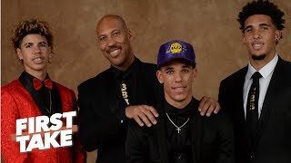 Download LaVar Ball Says Middle Son LiAngelo Ball Won't Make NBA | First Take | June 22, 2017 Video