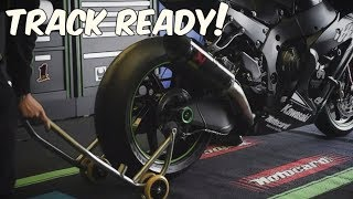 Download 2017 Kawasaki Ninja ZX-10RR | Full Transformation to a Track Bike Video