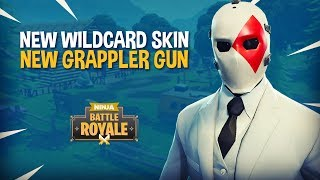Download *NEW* Wildcard Skin and Grappler Gun!! Fortnite Battle Royale Gameplay - Ninja & TimTheTatman Video