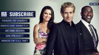 Download UNDISPUTED Audio Podcast (1.16.17) with Skip Bayless, Shannon Sharpe, Joy Taylor | UNDISPUTED Video
