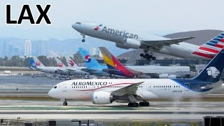 Download 1 Hour | AMAZING PLANESPOTTING at Los Angeles Airport (LAX) | ✈ [Full HD] Video