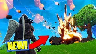 Download *NEW* METEOR HITTING MAP GAMEPLAY In Fortnite Battle Royale! [ITS HAPPENING!] Video