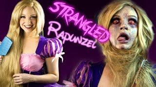 Download STRANGLED RAPUNZEL Makeup Tutorial - Glam & Gore Disney Princess Video