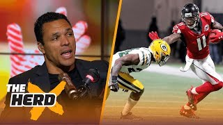 Download Tony Gonzalez explains why he is impressed with the Falcons and Chiefs after Week 2 wins | THE HERD Video