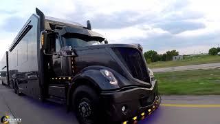 Download Luxury race hauler built for Scott Bloomquist Video