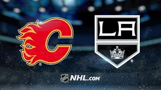 Download Monahan, Tkachuk power Flames past Kings in OT, 4-3 Video