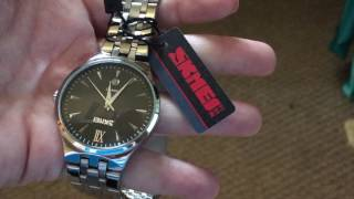 Download Stainless Steel Watch by SKMEI Video