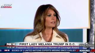 Download FULL EVENT: First Lady Melania Trump Attends International Women of Courage Awards in D.C. Video