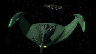 Download Romulan Bird of Prey vs Enterprise Video