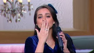 Download معكم منى الشاذلى - لأول مرة هبة مجدي تغني أغنية زوجها محمد محسن الجديدة « في قلبي مكان » Video