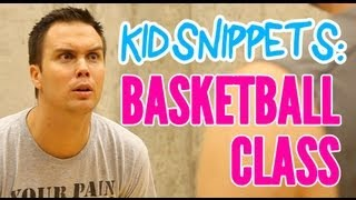 Download Kid Snippets: ″Basketball Class″ (Imagined by Kids) Video