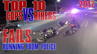 Download TOP 10 Bikers VS Cops Motorcycle Police Chase FAIL Compilation 2017 Cop WINS Bikes RUNNING From COPS Video
