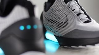 Download Nike HyperAdapt 1.0 ″Metallic/Silver″ Review & On Feet Video