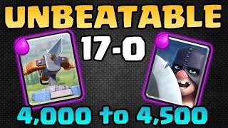 Download UNBEATABLE XBOW EXECUTIONER DECK! 17-0! No Losses Log! - Clash Royale Video