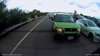 Download SUV Denies Zipper Merge Video