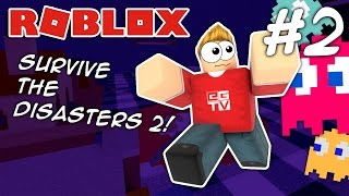 Download PAC-MAN!! Roblox Survive the Disasters 2 (#2) Video