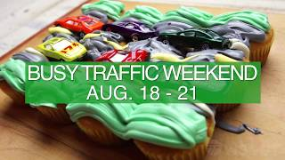 Download Busy Traffic Weekend, Aug 18-21 Video