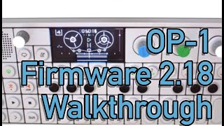 Download The New OP-1 Firmware Song - Highlights Demo Video