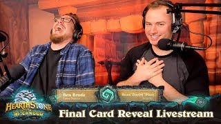 Download The Witchwood Final Card Reveal & Gameplay Livestream Video