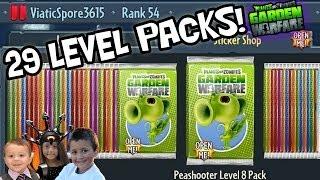 Download 29 LEVEL PACK OPENINGS! Plants vs. Zombies Garden Warfare *MONEY EXPLOIT* Almost 100% Video