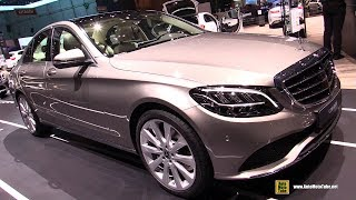 Download 2019 Mercedes C200 4Matic - Exterior and Interior Walkaround - 2018 Geneva Motor Show Video