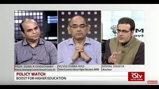 Download Policy Watch : Boost For Higher Education | MSP Bonanza Video